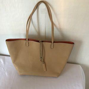 Handbags - Leather Tote Bag
